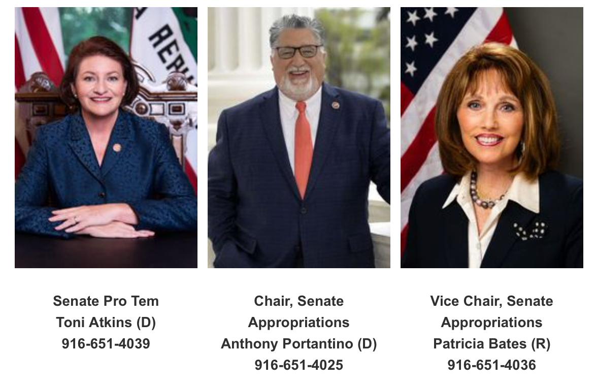 senators to call